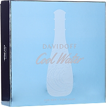 Profumi e cosmetici Davidoff Cool Water Woman - Set (edt/100ml + b/lot/75ml + sh/gel/75ml)