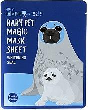 Profumi e cosmetici Maschera in tessuto - Holika Holika Baby Pet Magic Mask Sheet Whitening Seal