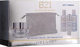 Profumi e cosmetici Set - Orlane B21 Extraordinaire Absolute Youth Set (f/cr/50 ml + lot/50ml + cleanser/50ml + ser/7.5 ml + bag)