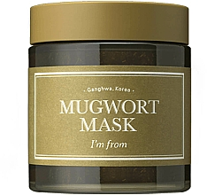 Profumi e cosmetici Maschera viso con assenzio - I'm From Mugwort Mask