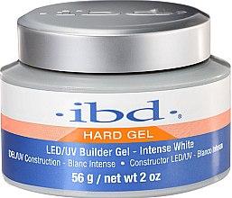 Profumi e cosmetici Gel UV costruttore modellante per unghie, bianco intenso - IBD LED/UV Builder Intense White Gel