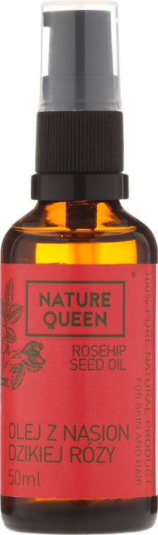 """Olio cosmetico """"Rosa canina"""" - Nature Queen Rosehip Seed Oil — foto N3"""