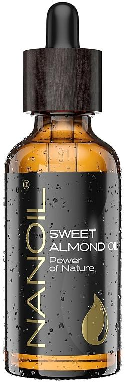 Olio di mandorle - Nanoil Body Face and Hair Sweet Almond Oil — foto N1