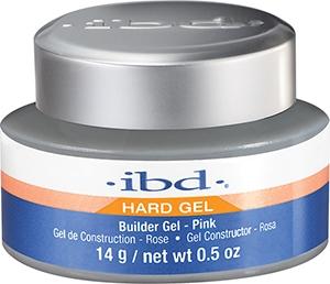 Gel costruttivo per unghie, rosa - IBD Builder Pink Gel