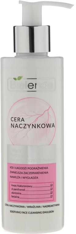 Emulsione viso lenitiva - Bielenda Capillary Skin Soothing Face Cleansing Emulsion