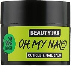 """Profumi e cosmetici Balsamo per unghie e cuticole """"Oh My Nails!"""" - Beauty Jar Cuticle&Nail Balm"""