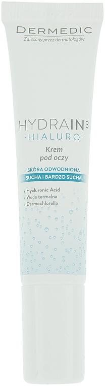 Crema contorno occhi - Dermedic Hydrain 3 Hialuro Eye Cream