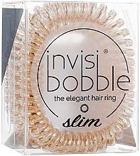 Elastico-braccialetto per capelli - Invisibobble Slim Bronze Me Pretty — foto N2
