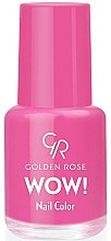 Profumi e cosmetici Smalto per unghie - Golden Rose Wow Nail Color