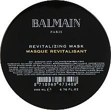 Profumi e cosmetici Maschera per capelli nutriente rivitalizzante - Balmain Paris Hair Couture Revitalizing Mask