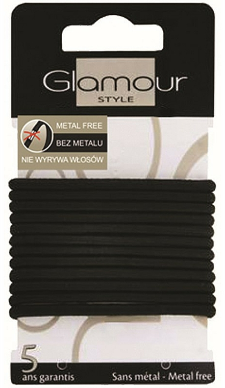 Elastici per capelli, 414687, neri - Glamour