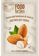 Profumi e cosmetici Maschera per il viso - Marion Food for Skin Cream Mask Nourishing Almond
