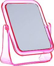Profumi e cosmetici Specchio cosmetico quadrato, 5282, rosa - Top Choice
