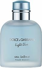 Profumi e cosmetici Dolce & Gabbana Light Blue Eau Intense Pour Homme - Eau de Parfum