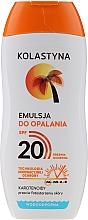 Profumi e cosmetici Lozione abbronzzante impermeabile - Kolastyna Suncare Emulsion SPF20