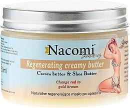 Profumi e cosmetici Burro rigenerante naturale doposole - Nacomi Sunny Regenerating Creamy Butter