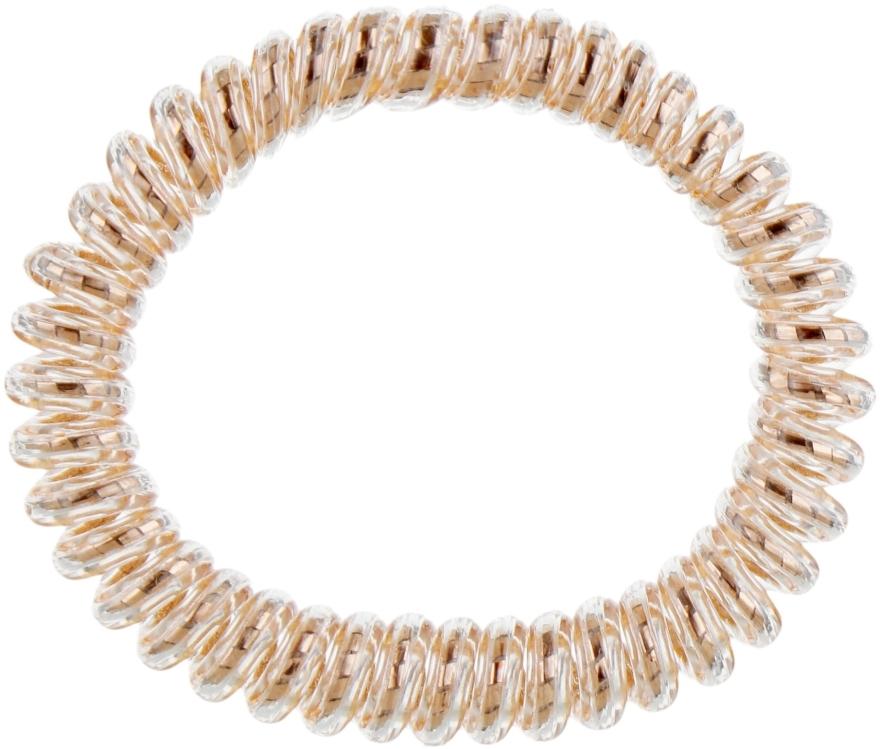 Elastico-braccialetto per capelli - Invisibobble Slim Bronze Me Pretty — foto N1