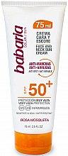Profumi e cosmetici Crema solare per viso e collo - Babaria Face and Neck Sun Cream Spf 50