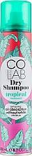 """Profumi e cosmetici Shampoo secco capelli """"Profumo tropicale"""" - Colab Tropical Dry Shampoo"""