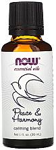 "Profumi e cosmetici Olio essenziale ""Miscela calmante. Pace e armonia"" - Now Foods Essential Oils Peace & Harmony"