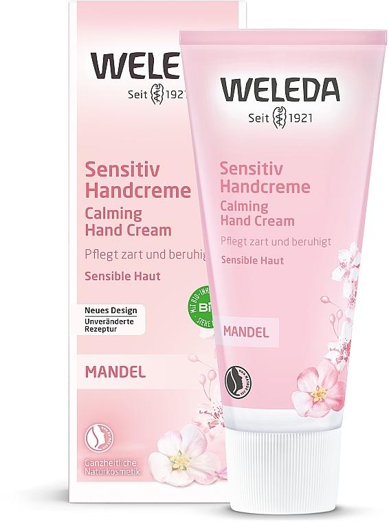 Crema mani delicata con mandorle - Weleda Mandel Sensitiv Handcreme — foto N2