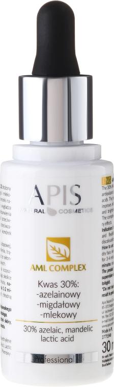 Complesso esfoliante per viso KWAS 30% - APIS Professional AML Complex KWAS 30%