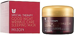 Profumi e cosmetici Maschera nutriente anti-rughe al retinolo, da notte - Mizon Good Night Wrinkle Care Sleeping Mask
