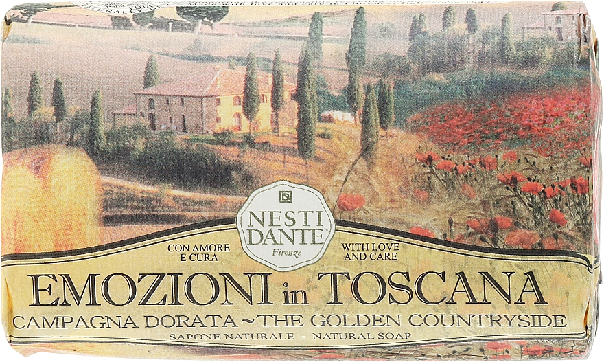 """Sapone """"Campagna dorata"""" - Nesti Dante Emozioni in Toscana Soap"""