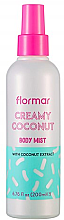"Profumi e cosmetici Body Mist ""Cocco"" - Flormar Coconut Body Mist"