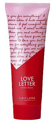"""Crema mani """"Lettera d'amore"""" - Oriflame Love Letter Hand Cream"""