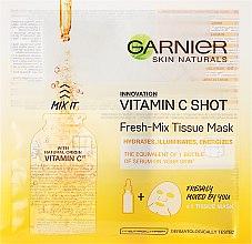 Profumi e cosmetici Maschera in tessuto con vitamina C - Garnier SkinActive Fresh-Mix Sheet Mask with Vitamin C