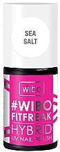 Profumi e cosmetici Smalto ibrido per unghie - Wibo FitFreak Hybrid UV Nail Polish