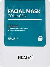 Profumi e cosmetici Maschera viso al collagene - Pilaten Collagen Facial Mask