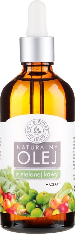 Olio anticellulite con estratto di caffè verde - E-Flore Natural Oil