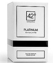 Profumi e cosmetici 42° by Beauty More Platinum Edition Limitee Pour Femme - Eau de Parfum