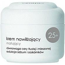Profumi e cosmetici Crema idratante opacizzante da giorno 25+ - Ziaja Light Moisturizing Cream