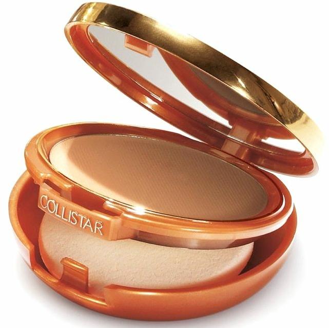 Fondotinta-cipria compatta, effetto abbronzante - Collistar Tanning Compact Cream SPF 6 — foto N1