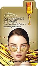 "Profumi e cosmetici Maschera contorno occhi ""Golden Radiance"" - 7th Heaven Renew You Gold Radiance Eye Masks"