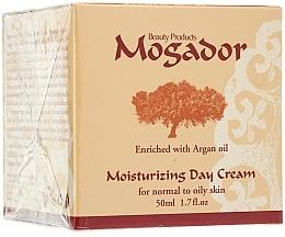 Profumi e cosmetici Crema da giorno idratante per pelli normali e grasse - Mogador Moisturizing Day Cream