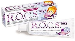 """Profumi e cosmetici Dentifricio """"Bubble gum con sapore di gomma da masticare"""" - R.O.C.S. Kids Bubble Gum Toothpaste"""