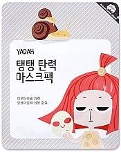Profumi e cosmetici Maschera in tessuto con bava di lumaca e collagene - Yadah Collagen Mask Pack