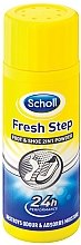 Profumi e cosmetici Deodorante-polvere piedi - Scholl Fresh Step Foot & Shoe 2 in 1 Powder