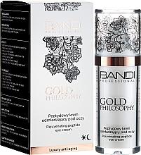 Profumi e cosmetici Crema contorno occhi con peptidi - Bandi Professional Gold Philosophy Rejuvenating Peptide Eye Cream