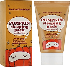 Profumi e cosmetici Maschera con estratto di zucca da notte - Too Cool For School Pumpkin Sleeping Pack
