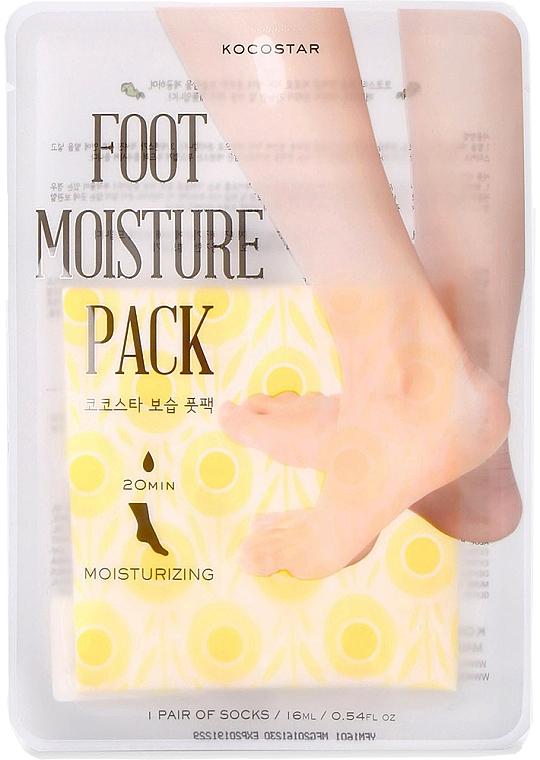 Maschera piedi idratante - Kocostar Foot Moisture Pack Yellow