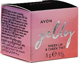 Profumi e cosmetici Tinta-gelatina per labbra e guance - Avon Jelly Sheer Lip & Cheek Tint