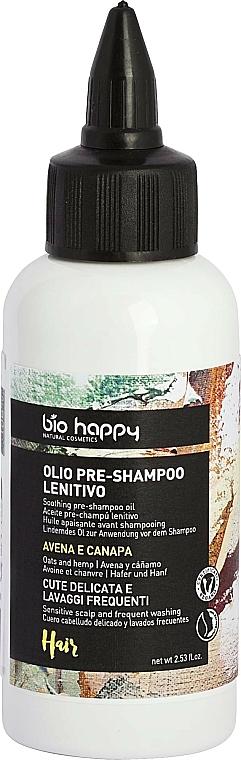 """Olio pre-shampoo """"Avena e canapa"""" - Bio Happy Oat & Hemp Pre-Shampoo Oil — foto N1"""