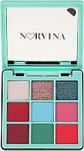 Palette ombretti - Anastasia Beverly Hills Norvina Pro Pigment Mini №3 — foto N1