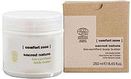 Profumi e cosmetici Burro corpo nutriente - Comfort Zone Sacred Nature Bio-Certified Body Butter