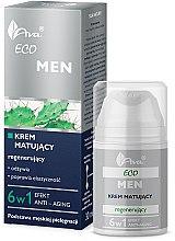 Profumi e cosmetici Crema viso opacizzante rigenerante - Ava Laboratorium Eco Men Cream
